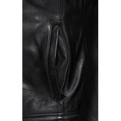 Photo of Spirit Motors retro style leather jacket 5.0 black men size M Spirit Motors