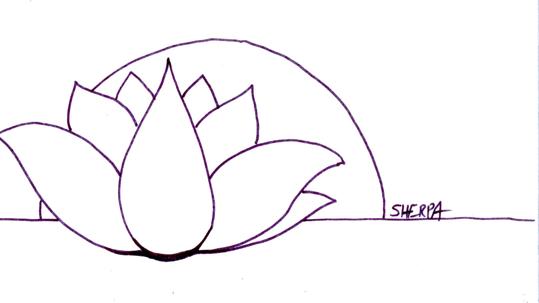 Lotus Tracing Picture The Art Sherpa The Art Sherpa Trace Able