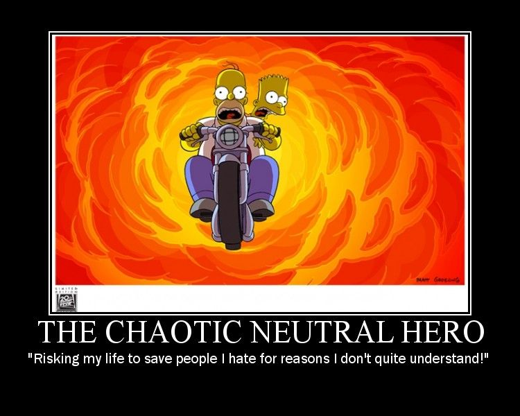 Chaotic Neutral (Pathfinder Alignment) | RPG, Dragons and ...