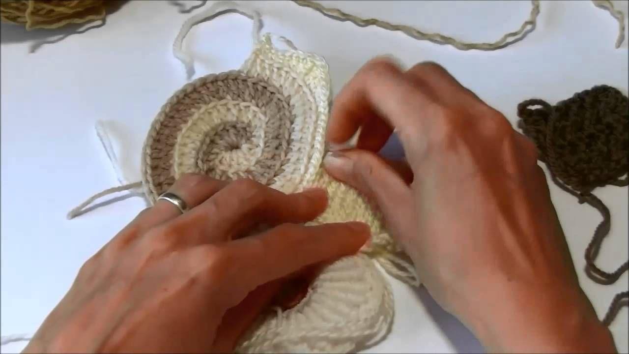 Starten met een scrumble (freeform) | Crochet : Ruso,Irlandes,rumano ...