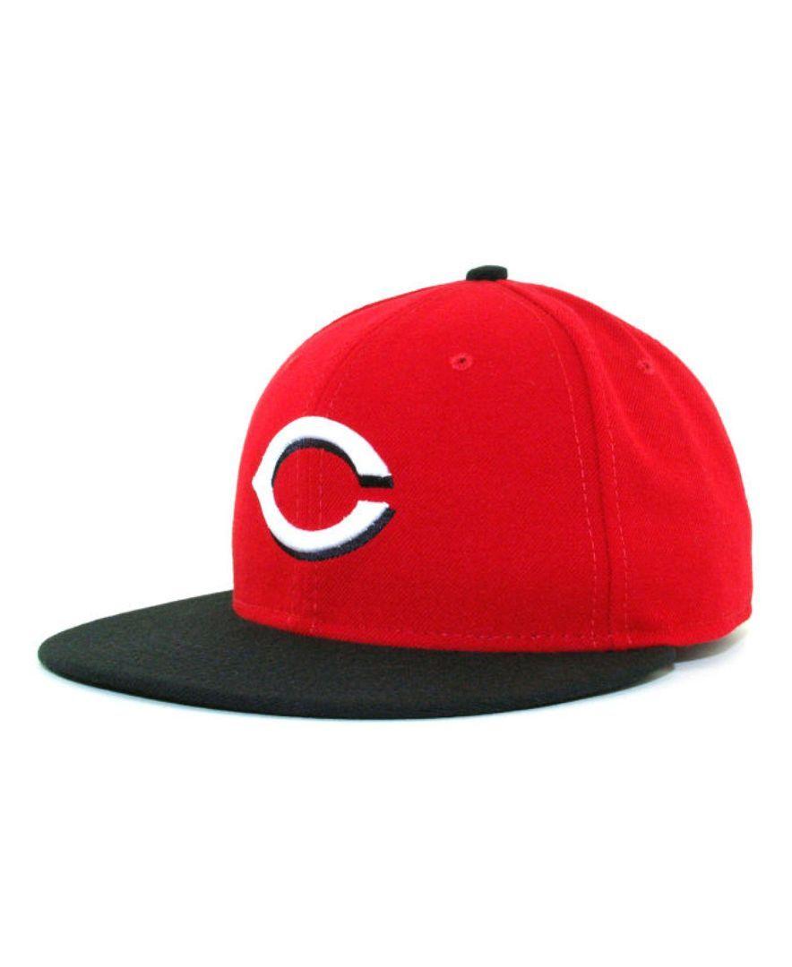 premium selection 989e2 0e604 New Era Cincinnati Reds Mlb Authentic Collection 59FIFTY Cap