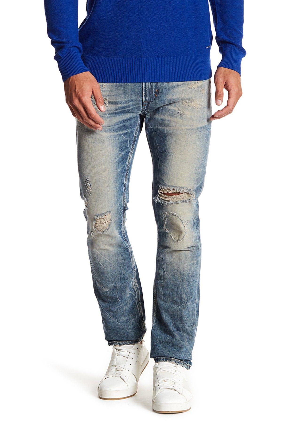 001d1042 Diesel Thavar Slim Skinny Jeans Urban Fashion, Men's Fashion, Diesel,  Nordstrom Rack,