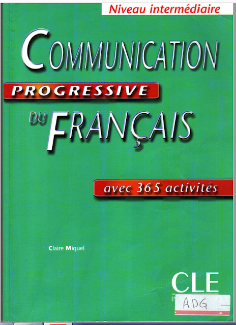 Communication Progressive Du Francais كتاب French Learning Books Learn French Learn French Online