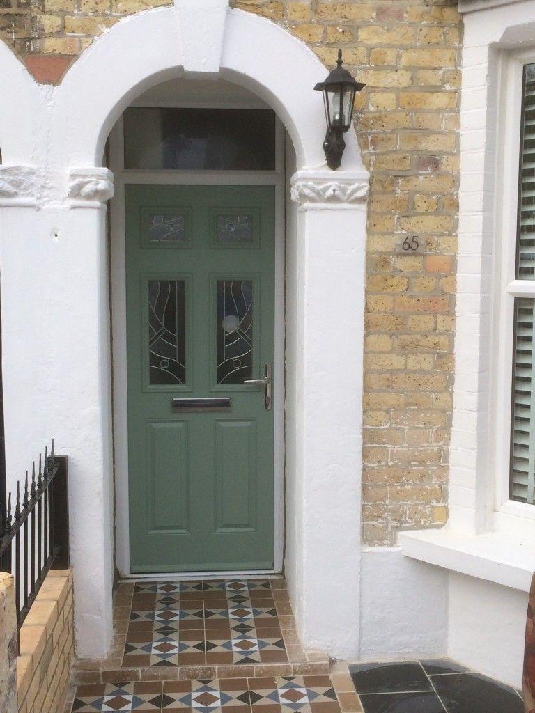 Composite Doors Colors : Chartwell green composite door outside pinterest