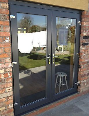 Upvc French Doors 1100mm 1200mm Various Colours Other Sizes Available Upvc French Doors Double Patio Doors French Doors Exterior