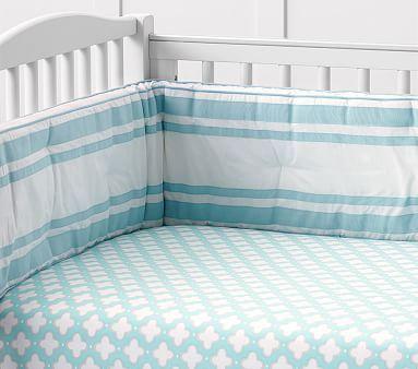 Harper Clover Geo Fitted Crib Sheet Crib Sheets Boy
