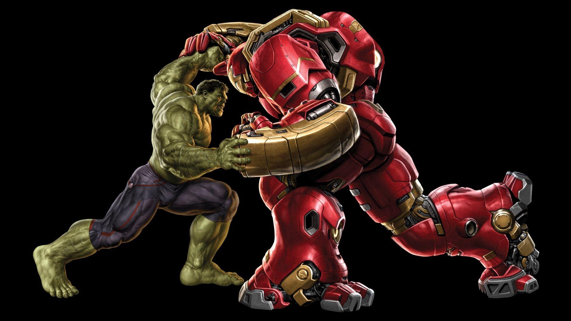 Hulk Vs Hulkbuster Wallpaper Marvel Comics Pinterest