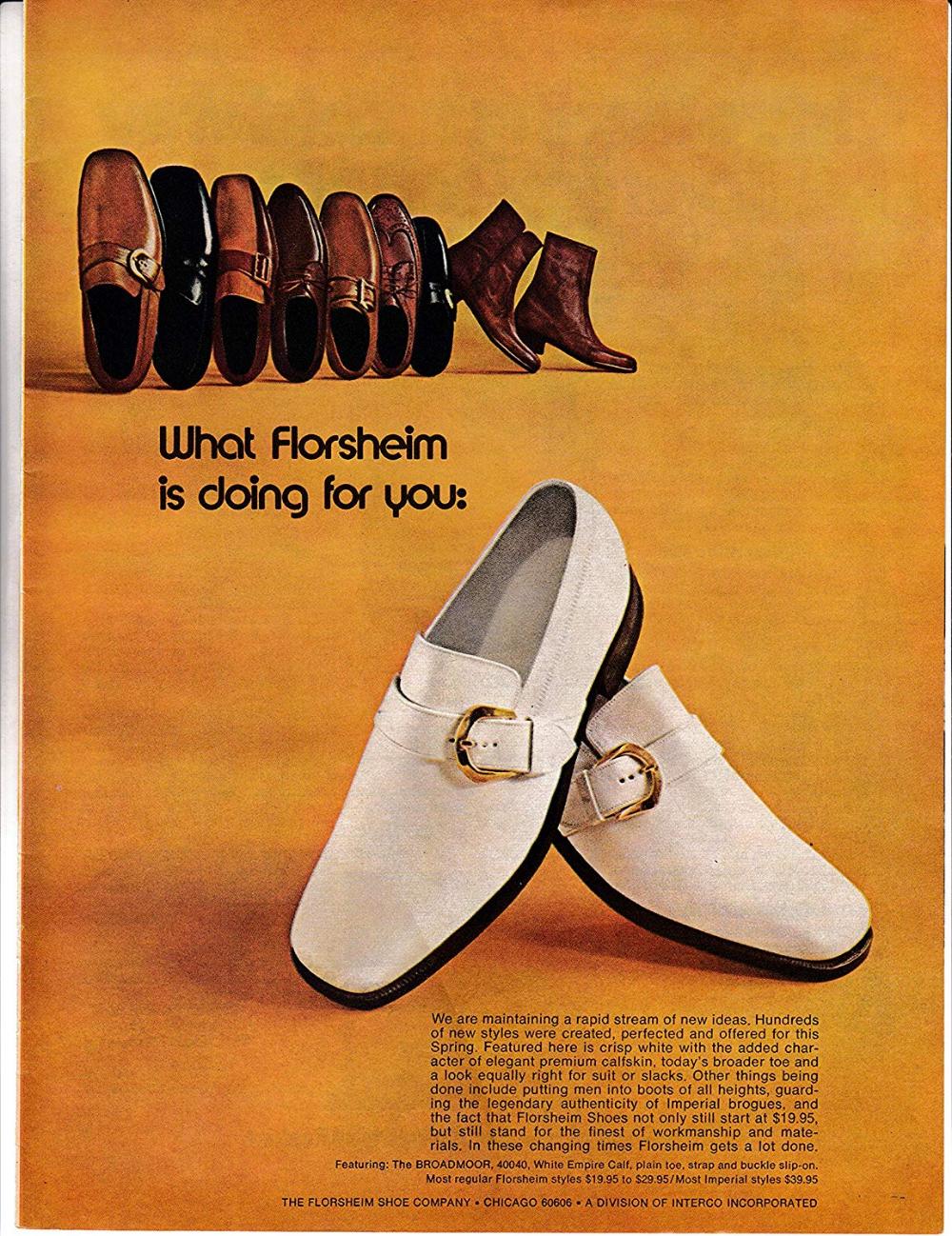 Amazon Com 1972 Florsheim Mens Shoes White Loafers Calfskin