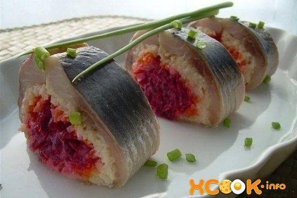 Салат «Селедка в шубе» – пошаговый рецепт с фото ...