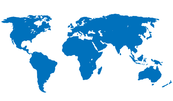 Blue world map free vector free vectors pinterest vector free blue world map free vector gumiabroncs Choice Image