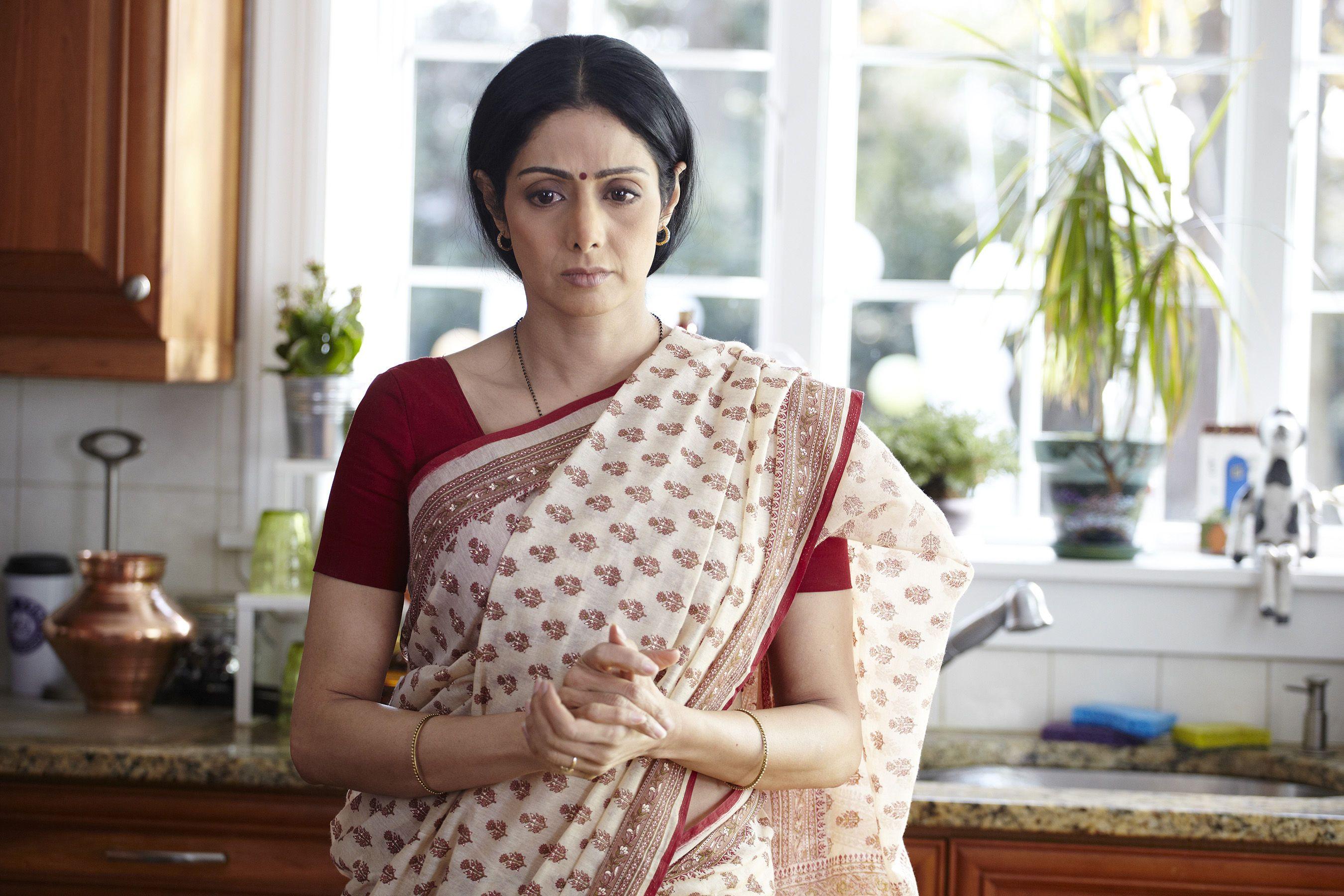 sridevi english vinglish sarees - Google Search | Indian celebrities, Saree, Plain saree