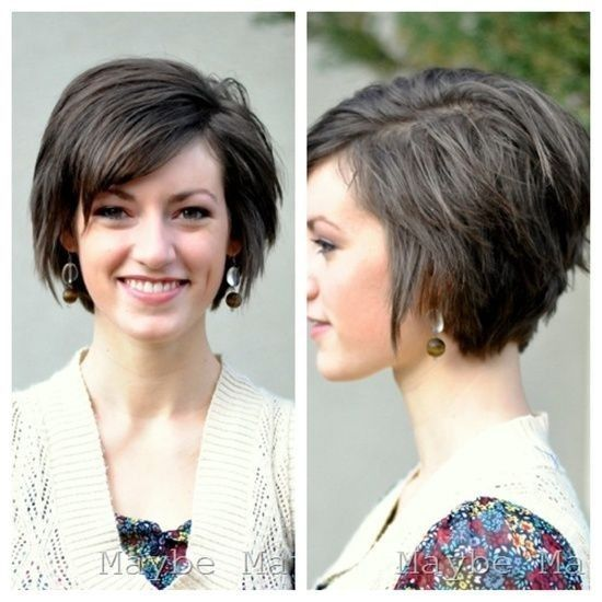 short-hair-oval-face-shape-best-hairstyles-2017-best-short-hairstyle ...