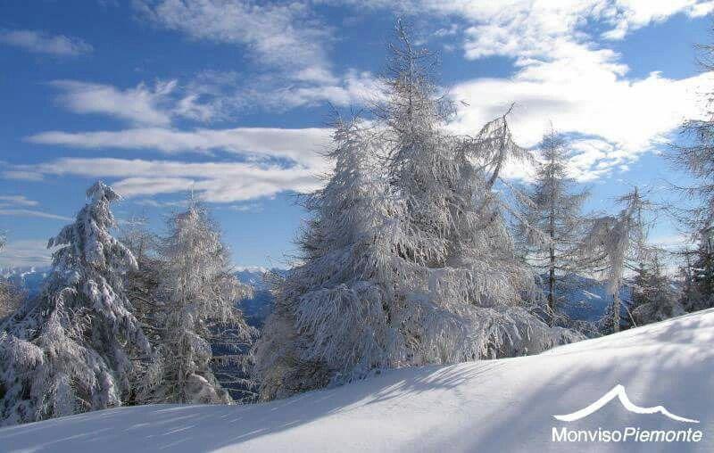 Monviso... La neve al posto giusto