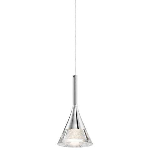 Elan kabru 4 34 wide led chrome mini pendant light minis elan kabru 4 34 wide led chrome mini pendant light aloadofball Images