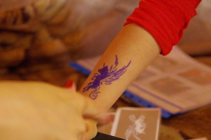 Pin Na Tatuaże Dla Dzieci