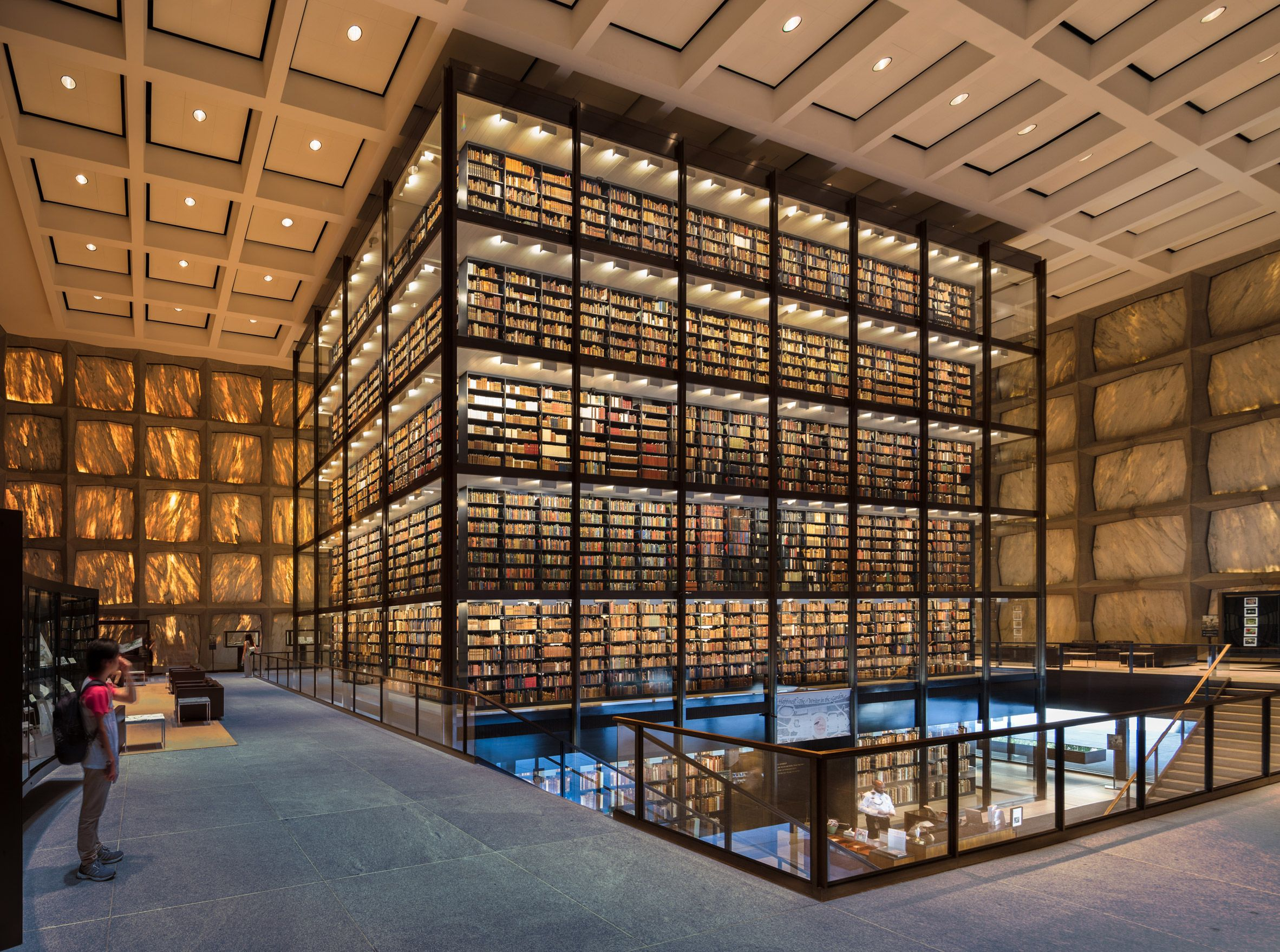 Beinecke Library By Gordon Bunshaft New Haven Connecticut