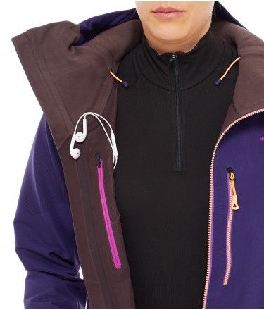 46a1aceee The North Face Women's FuseForm Brigandine 3L Jacket Garnet Purple ...