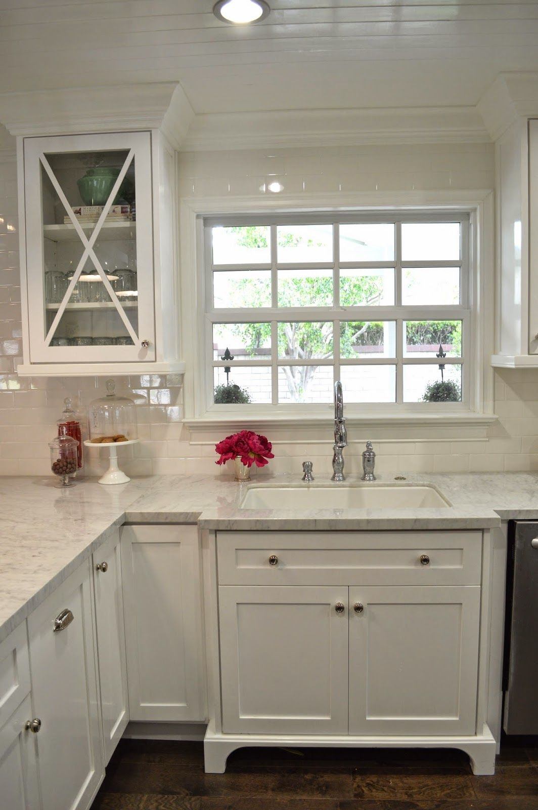 The Cape Cod Ranch Renovation Great Room Continued Kitchen Kitchen Remodel Small Kitchen Renovation Home Kitchens
