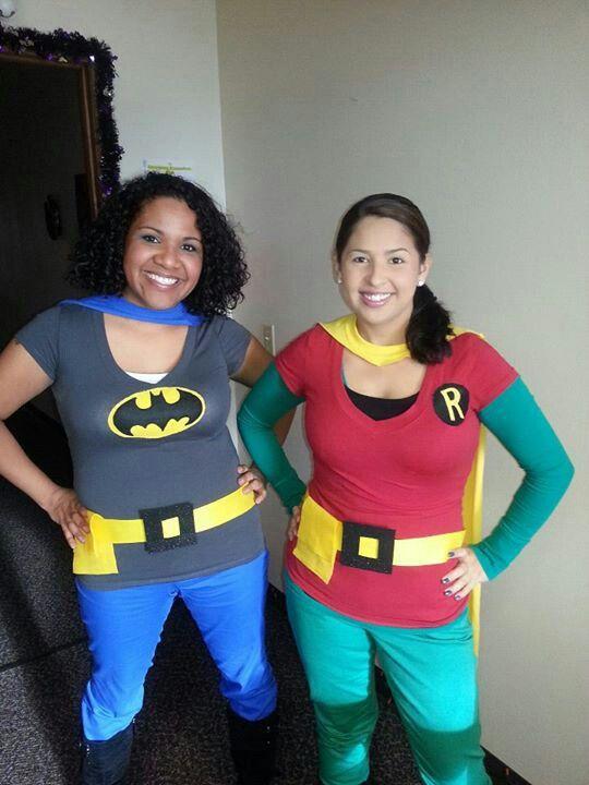 Homemade Batman and Robin Costumes | Halloween ideas ...