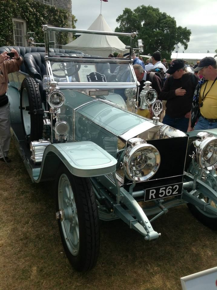 One of the oldest surviving Silver Ghosts, this exquisite 1908 car ...