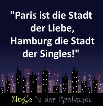 Spruch: Paris ist die Stadt der Liebe, Hamburg  | Hamburg