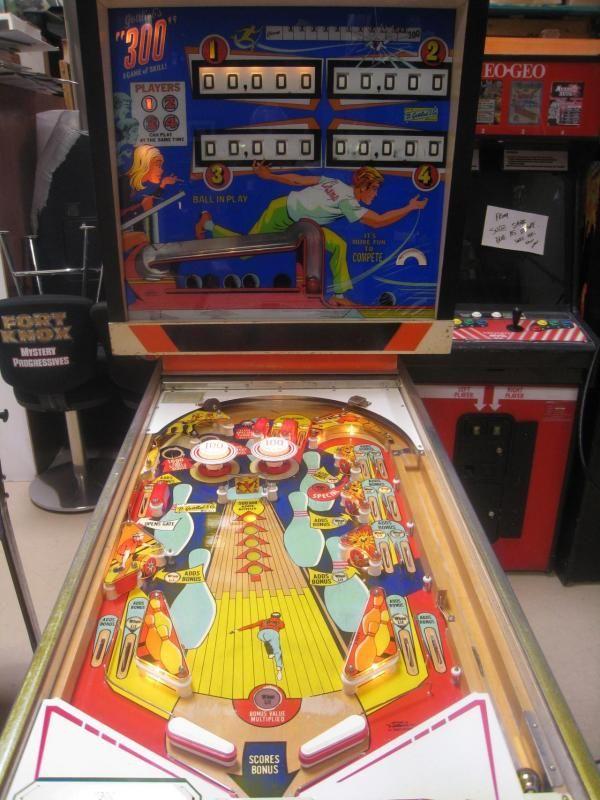 1975 300 Gottlieb Pinball Machine Pinball Pinball Machine Vintage Games