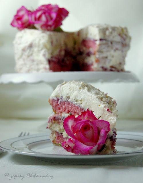 Cherry Rose Cake