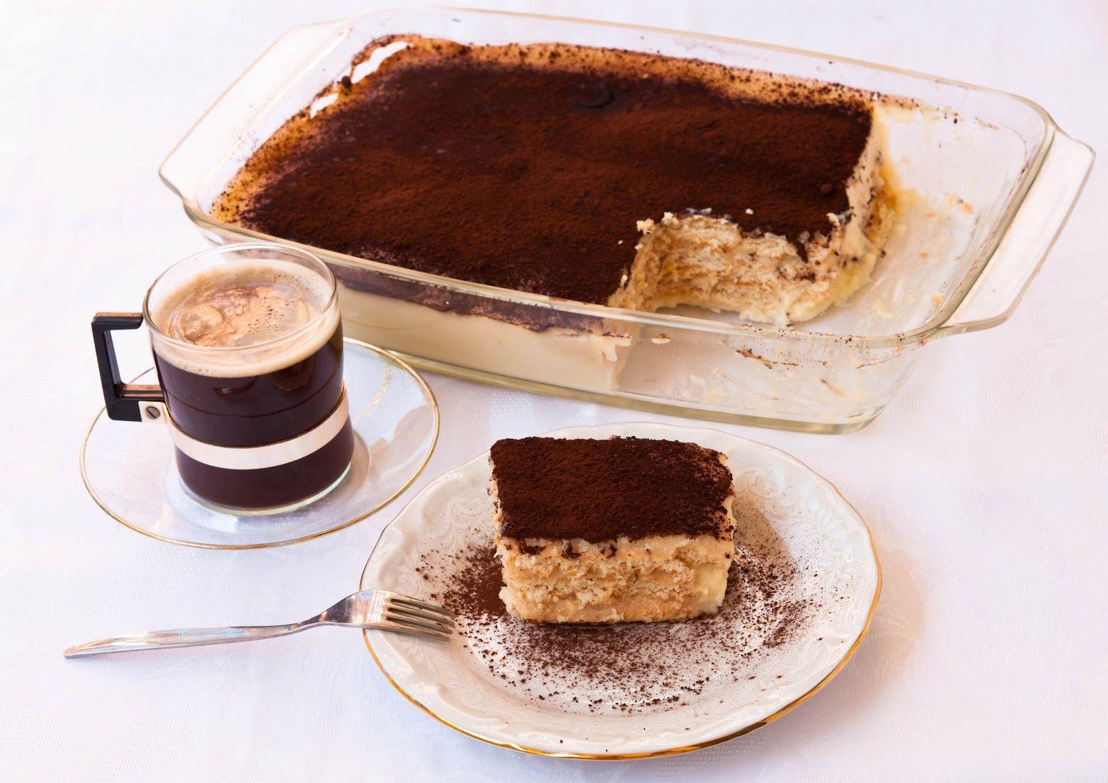 Bulgarian Biscuit cake - Бисквитена торта