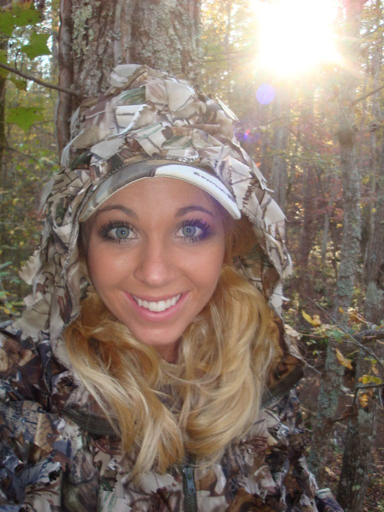 Girls hunt too!!