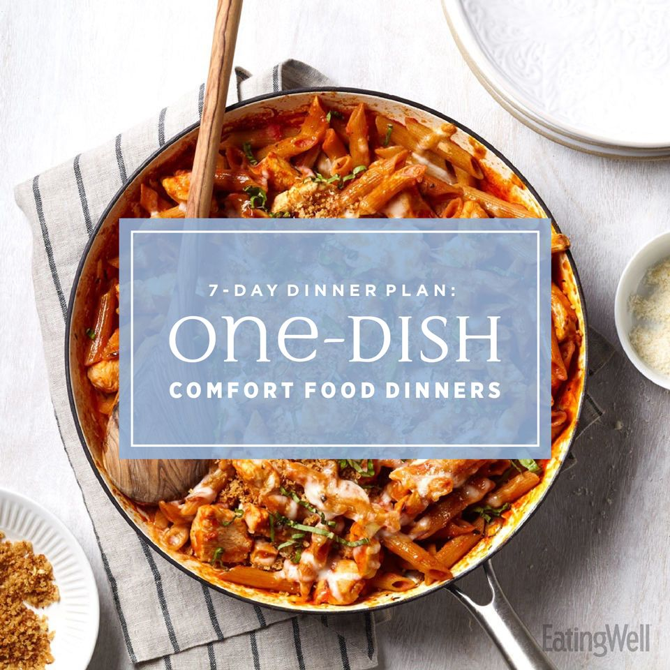 7-Day Dinner Plan: One-Dish Comfort Food Dinners images