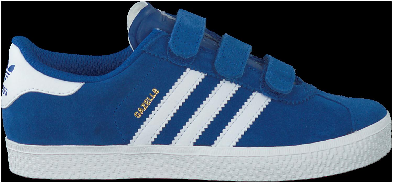 blauwe adidas sneakers gazelle heren