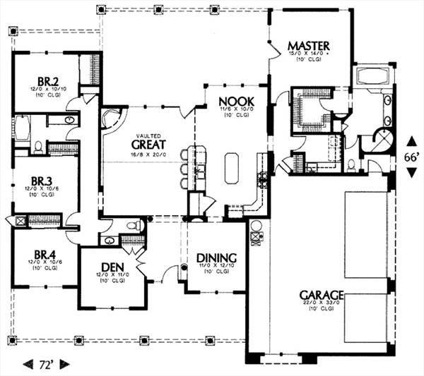 Plan 6668 Floor Plan Floor Plan Design Home Design Software Floor Plans