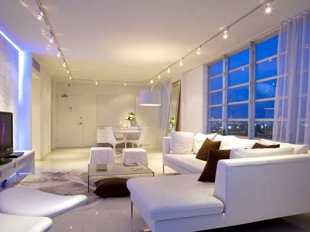 living room light fixtures track lighting fixtures for living room - Living Room Track Light