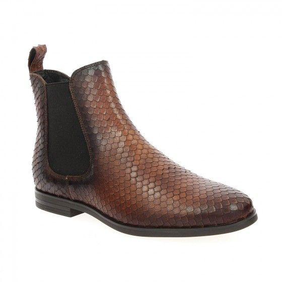 Bessec Boots #COCO_ABRICOT COCAIL Marron à 105