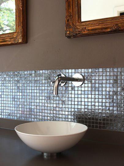 Stonewater Villa Mosaik Bad Armatur Dornbracht