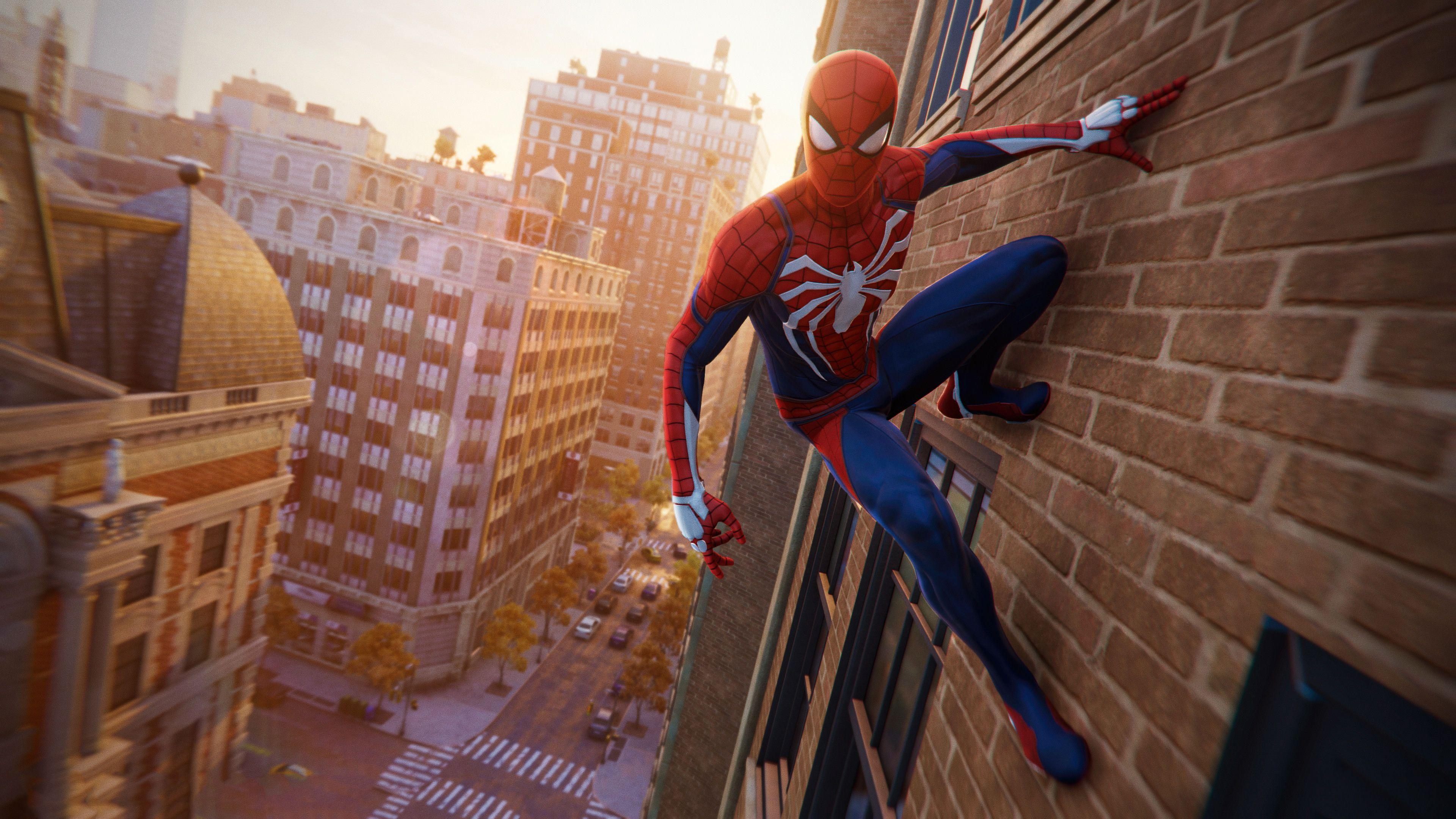 Spiderman Ps4 Game 2018 4k Superheroes Wallpapers Spiderman