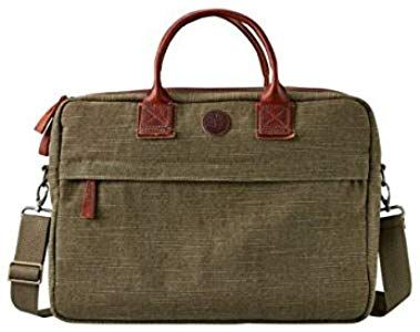 Timberland Jaffrey Water Resistant Covertible Canvas Leather Bag A1LV5  Men s  Amazon.co. 9de932f856364