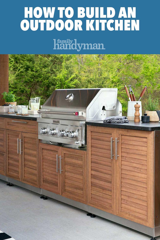 Outdoor Kitchen Pavilion Shed Build Outdoor Kitchen Backyard Kitchen Kitchen Installation