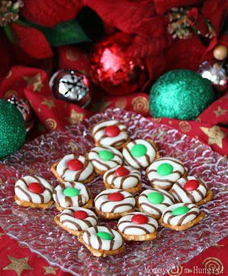 Christmas Pretzel Candies