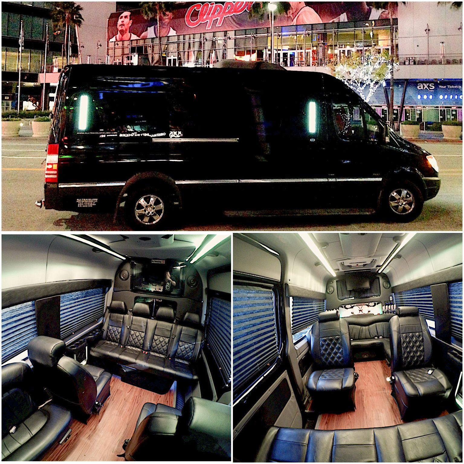Interior of a customized mercedes benz sprinter van sweeeet mercedes benz interiors pinterest sprinter van benz sprinter and mercedes benz