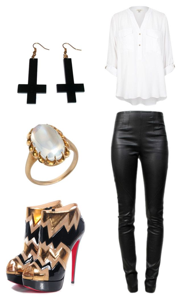 """""""Untitled #452"""" by mimsie ❤ liked on Polyvore featuring Alexander Wang, River Island and Chicnova Fashion"""