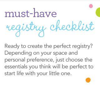 Toys R Us Baby Checklist Baby Registry Checklist Baby Registry