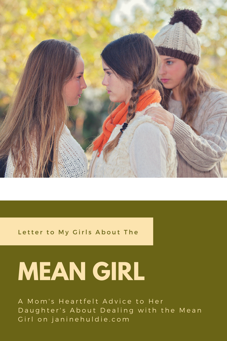 Letter to My Girls About the Mean Girl | Parenting