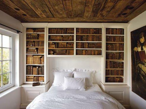 Kopfteile Für Betten U2013 Coole, Eigenartige Designs   Kopfteile Holz Betten  Bücherregale Klassisch Schlafzimmer