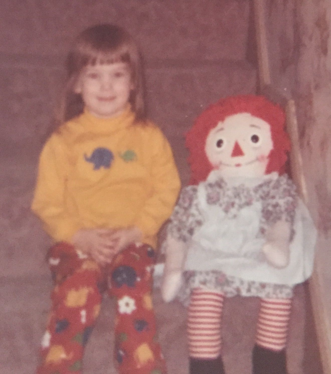 Jan 1, 1973 Lisa Glaser and friend.