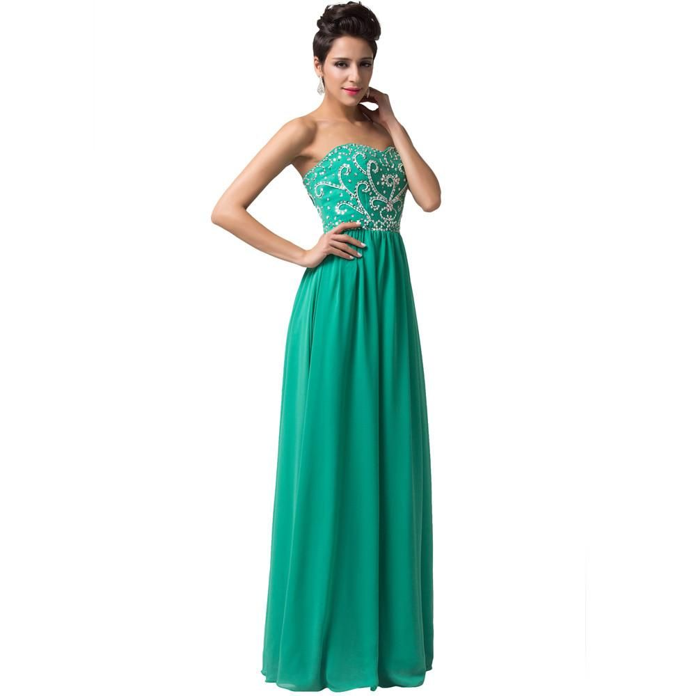 Sweetheart Long Prom Dresses, Evening Gown Special Occasion Dress ...