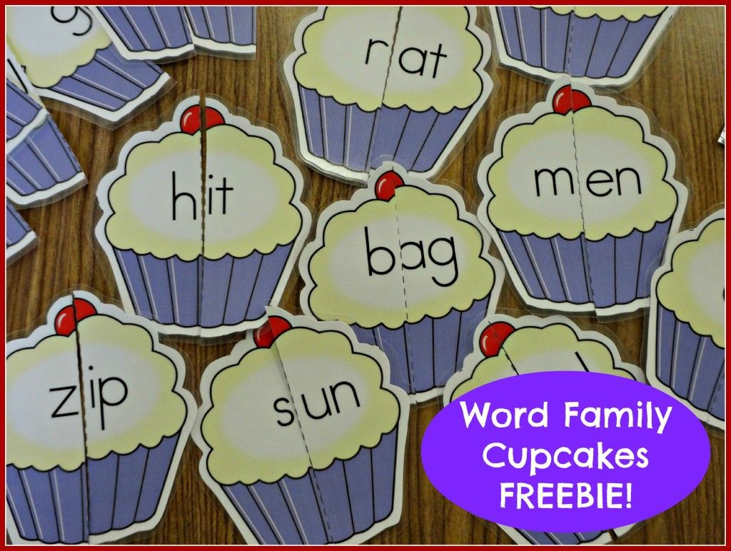 Fun little freebie for learning word families.