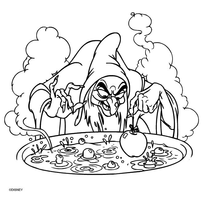 Witch Coloring Pages for Adults | Witch Coloring Pages Witch ...