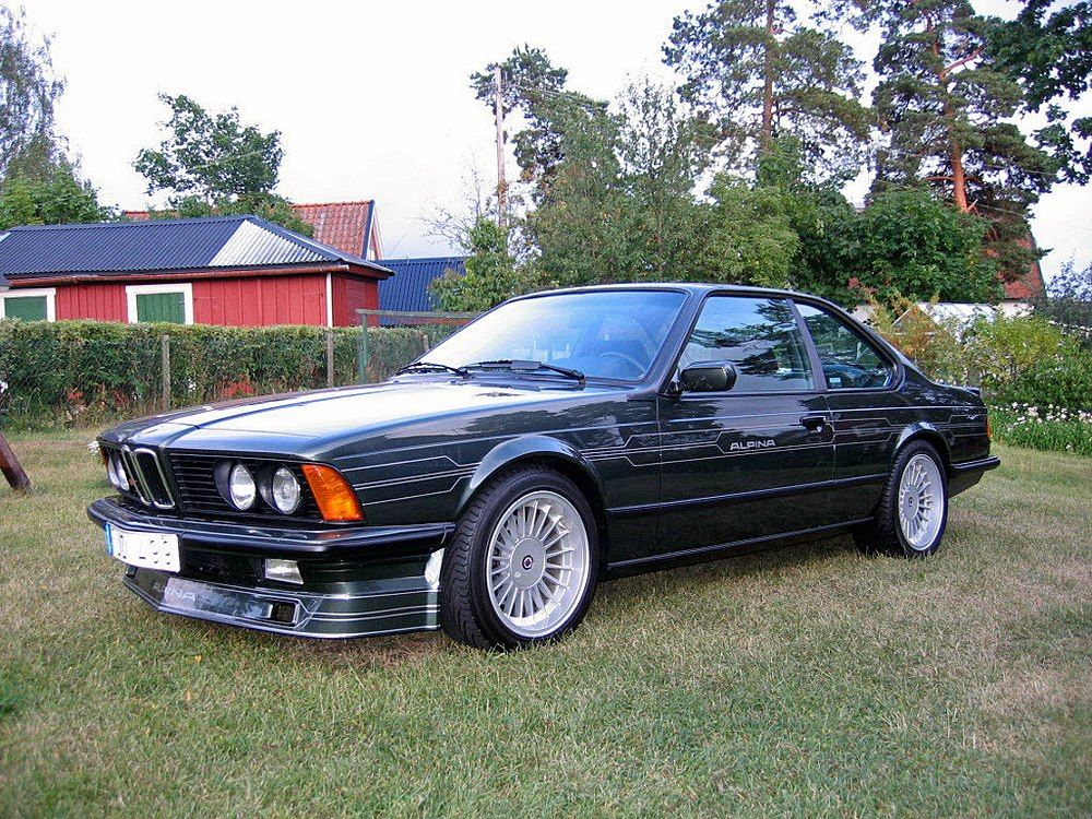 Bmw Super Bild Of The Week E24 Alpina B7 Turbo Coupe Bmw 6er