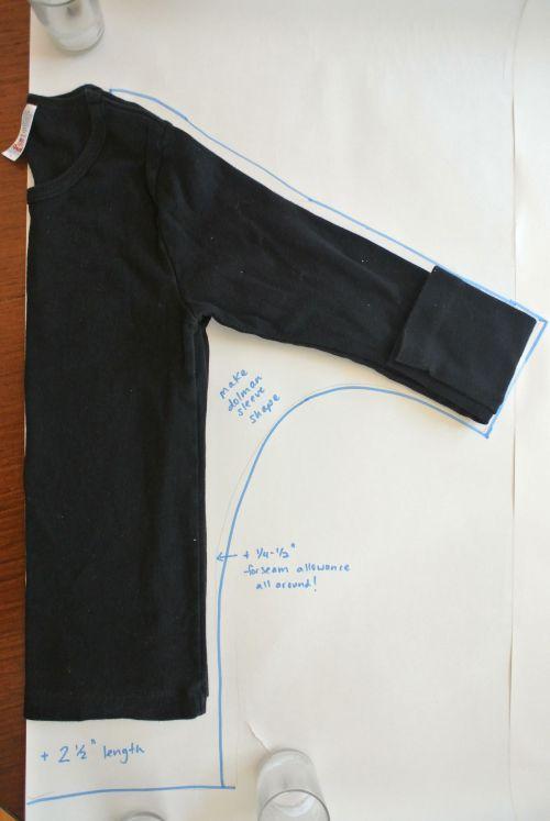 Counterpane Counterpane Craft Tutorials Diy Dolman Sleeve Top